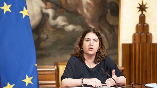 Ministro del Lavoro Nunzia Catalfo - Sputnik Italia