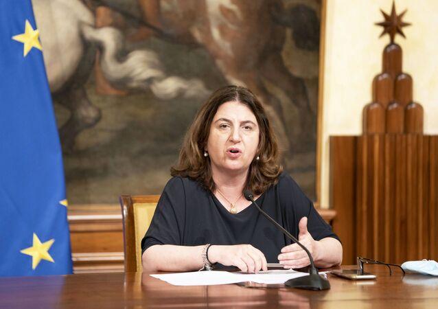 Ministro del Lavoro Nunzia Catalfo