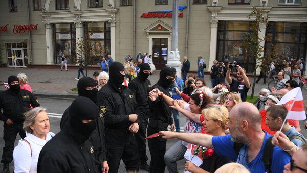 La manifestazione a Minsk - Sputnik Italia
