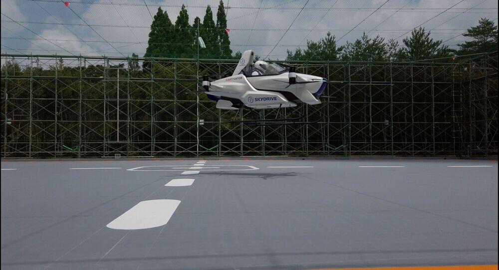 Test macchina volante SkyDrive
