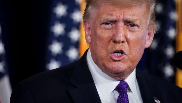 Donald Trump, presidente de EEUU (archivo) - Sputnik Italia