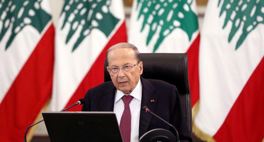 Presidente del Libano Michel Aoun