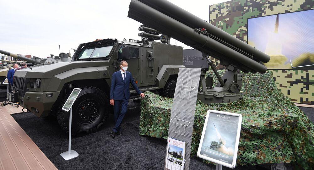 Sistema missilistico anti-carro russo Hermes