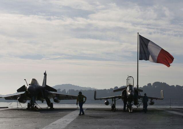 Caccia francesi (foto d'archivio)