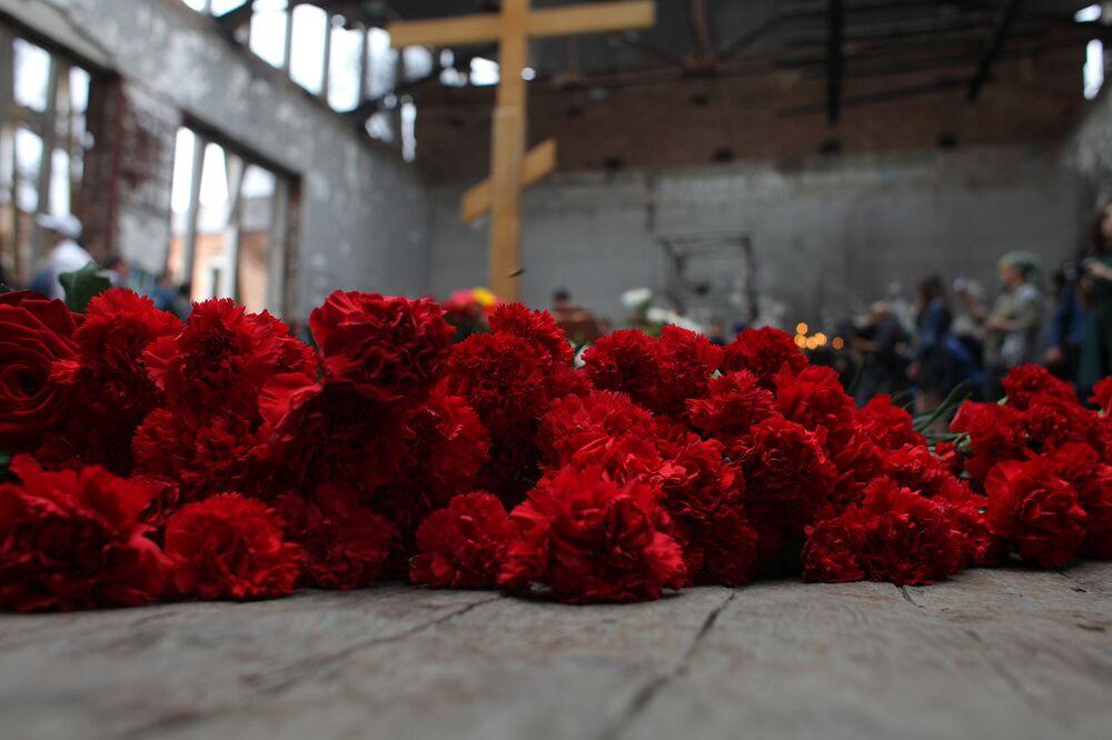 La strage di Beslan, Russia