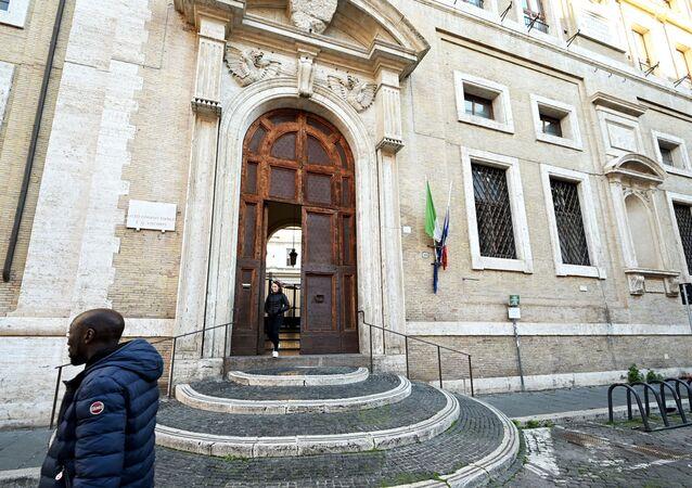 Una scuola a Roma, Italia