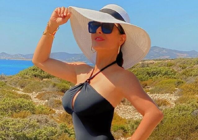 L'attrice messicana Salma Hayek