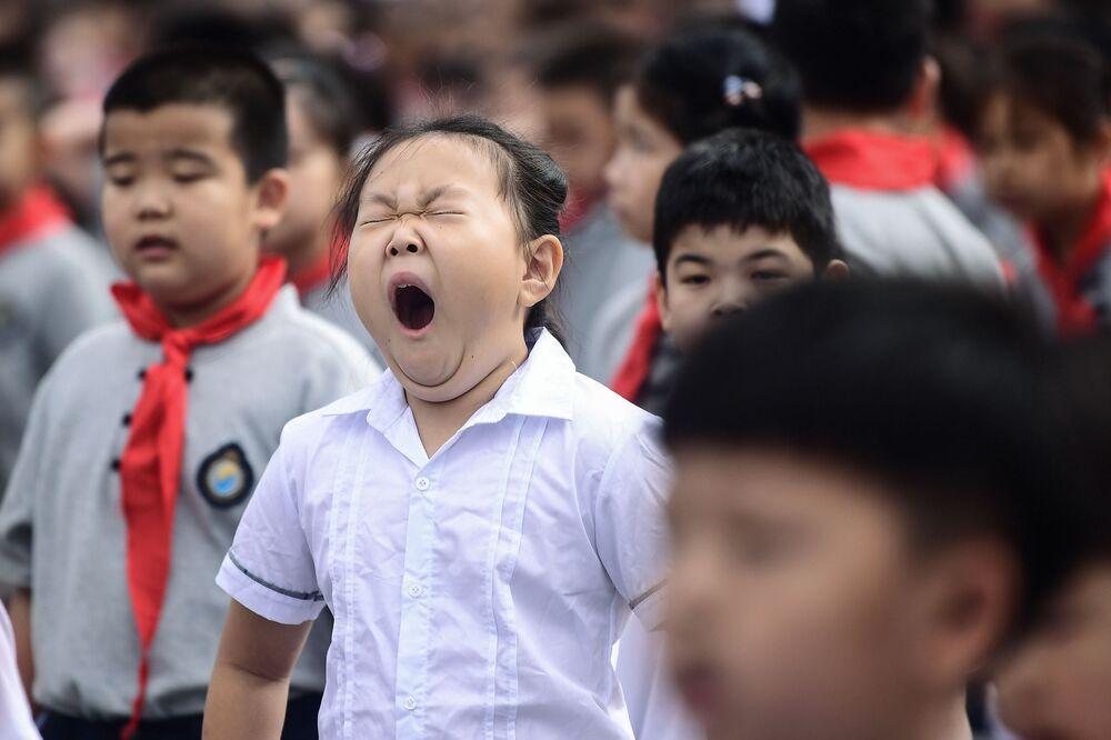 Primo giorno a scuola, Cina