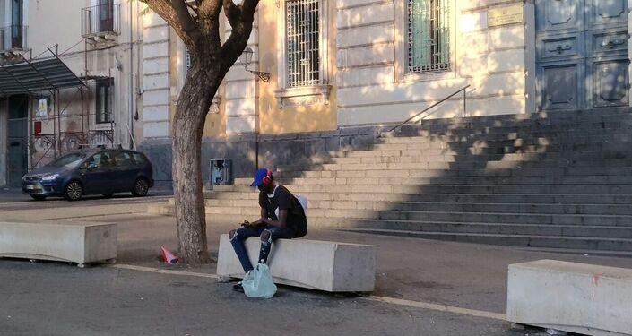 La vita dei migranti nella città di Catania