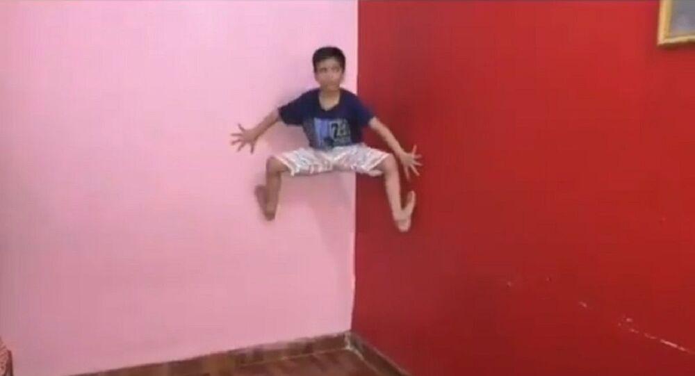 Bambino Spiderman