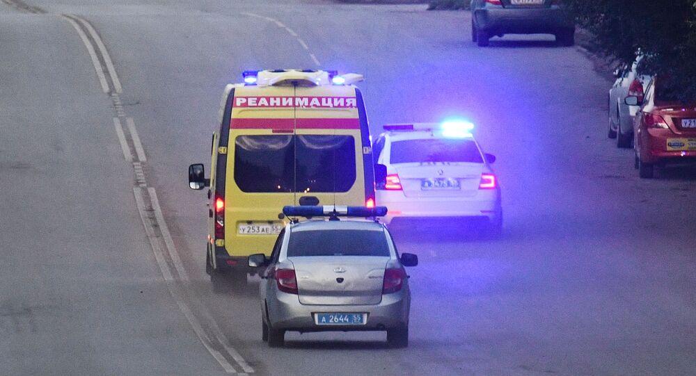 Politico russo Alexey navalny viene trasportato in ospedale a Omsk