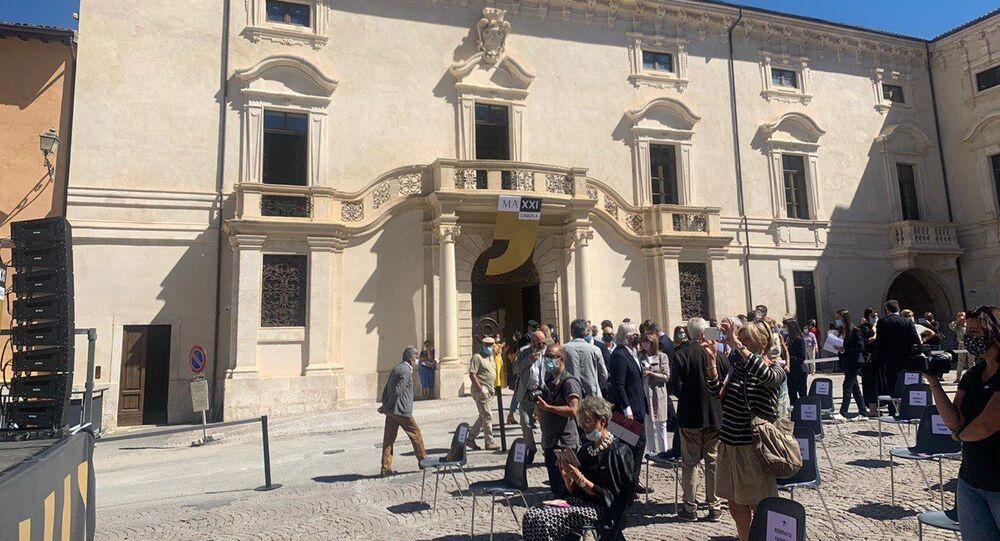 Palazzo Ardinghelli all'Aquila
