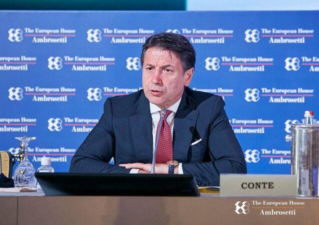 L'intervento del presidente Conte al Forum di Cernobbio