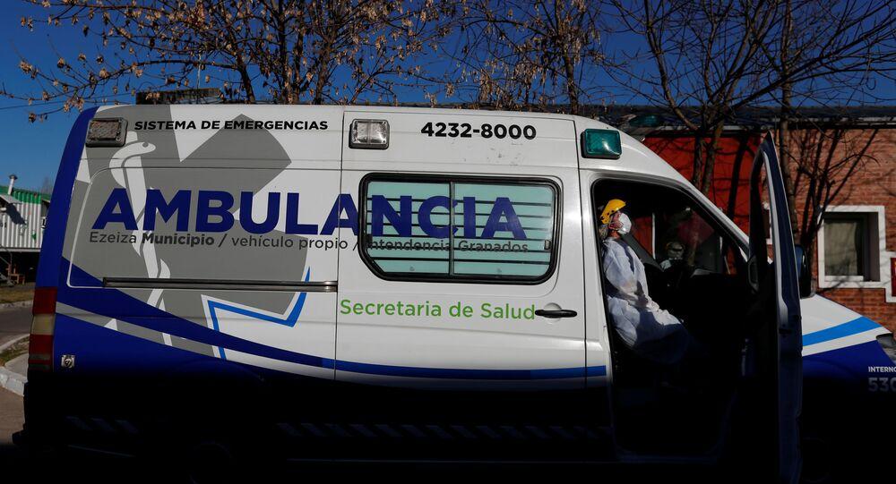 Ambulanza in Argentina