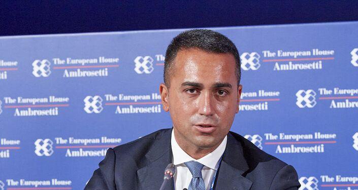 Luigi Di Maio al forum The European House - Ambrosetti a Cernobbio