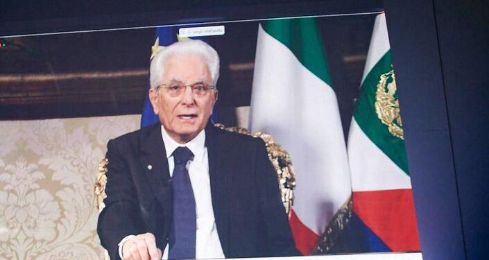 Presidente Mattarella al forum The European House - Ambrosetti a Cernobbio