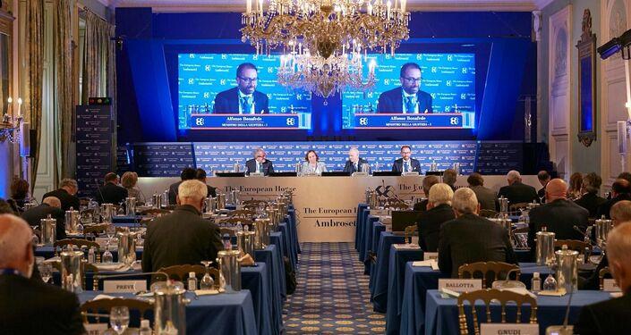 Il forum The European House - Ambrosetti a Cernobbio