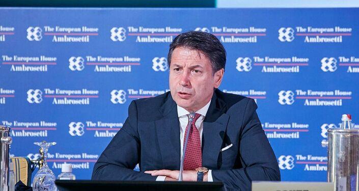 Premier Conte al forum The European House - Ambrosetti a Cernobbio