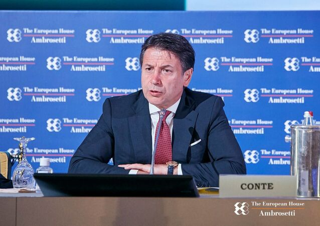 Premier Conte al forum The European House - Ambrosetti a Cernobbio