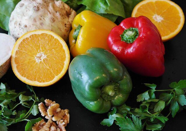 Agrumi e verdura
