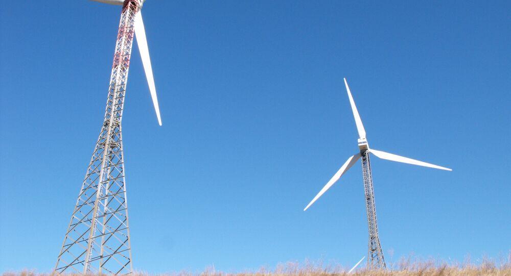 Parco eolico Bisaccia Avellino