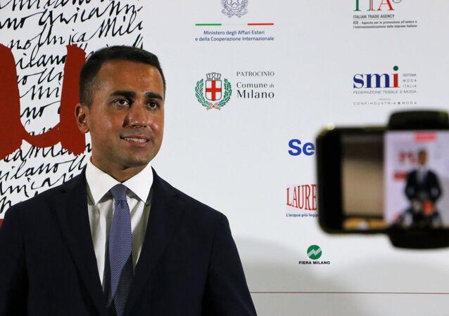 Luigi Di Maio alla cerimonia inaugurale della 31ª edizione di Milano Unica