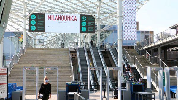 Cerimonia inaugurale della 31ª edizione di Milano Unica  - Sputnik Italia