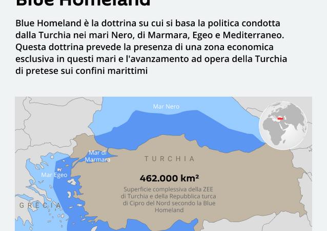 La ZEE turca secondo la dottrina Blue Homeland
