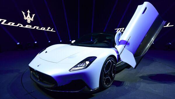 Presentazione della nuova super sportiva MC20 dell'azienda italiana Maserati in Italia - Sputnik Italia