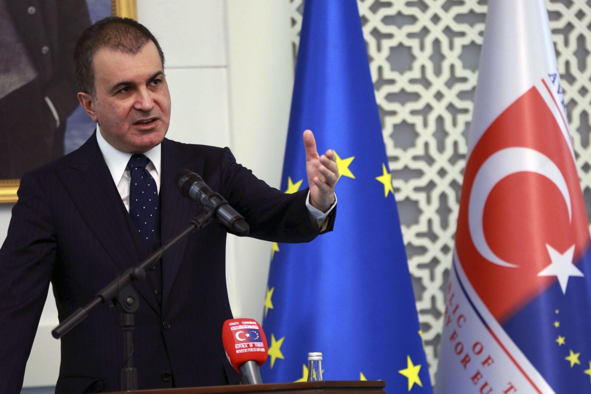 Omer Celik, portavoce del partito della Giustizia e dello Sviluppo (AKP) al governo turco - Sputnik Italia, 1920, 23.08.2021