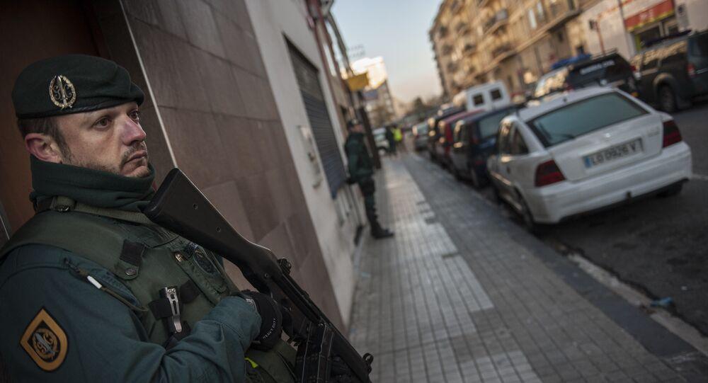 La Guardia Civil spagnola (foto d'archivio)