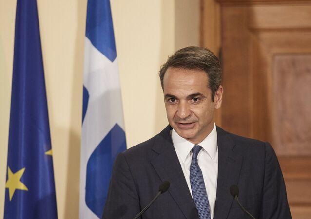 Il premier greco Kyriakos Mitsotakis