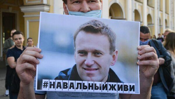 Manifestazione a sostegno di Alexey Navalny   - Sputnik Italia