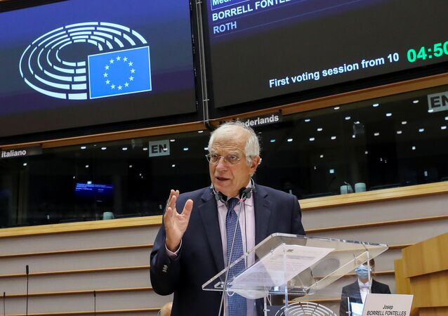 Josep Borrell all'Europarlamento