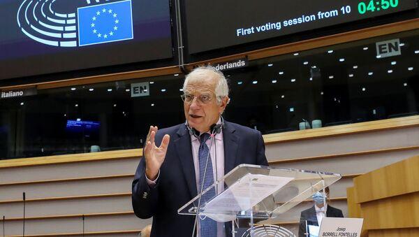 Josep Borrell, jefe de la diplomacia de la Unión Europea - Sputnik Italia