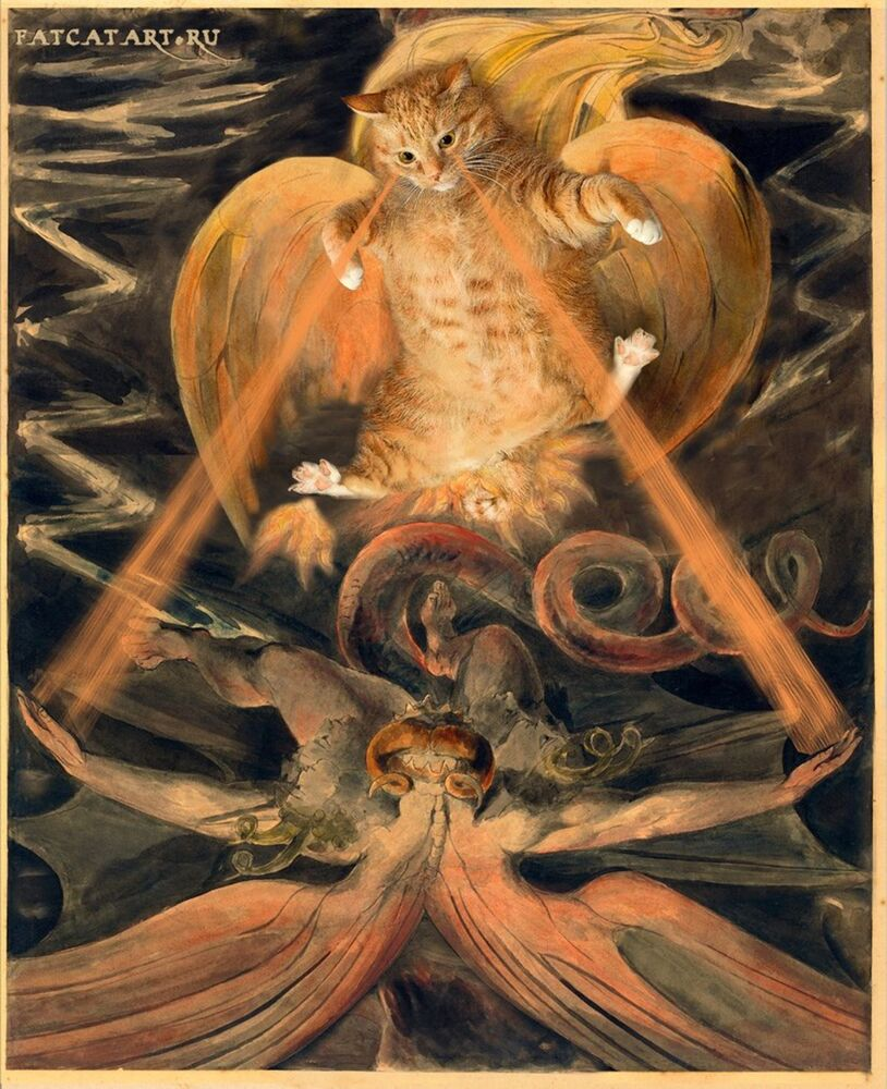 William Blake, Il Grande Drago Rosso