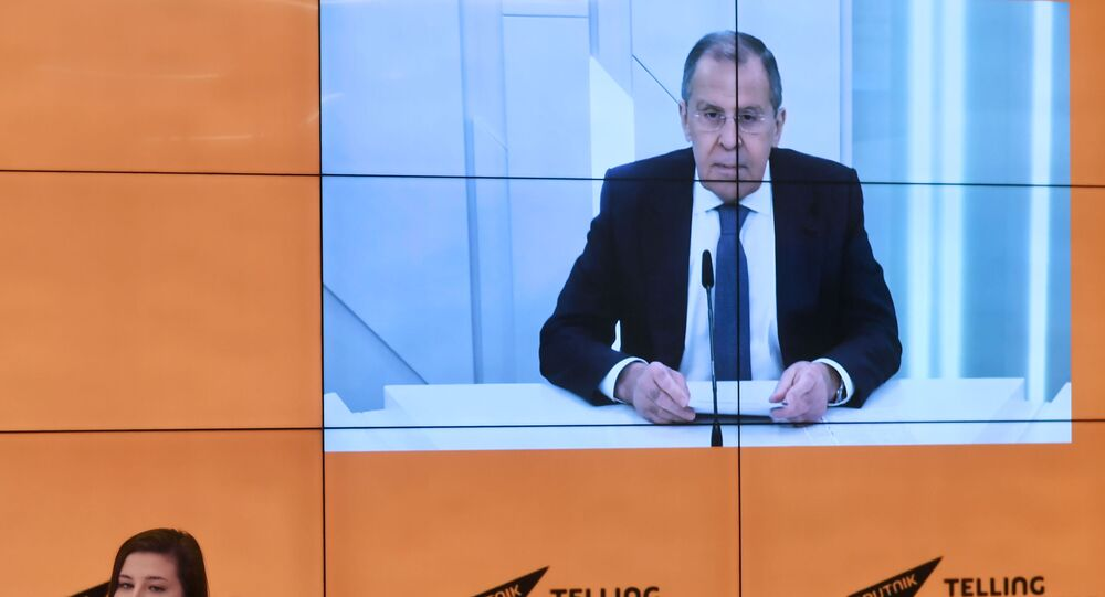 Intervista del ministro degli Esteri russo Sergey Lavrov ai corrispondenti di Sputnik