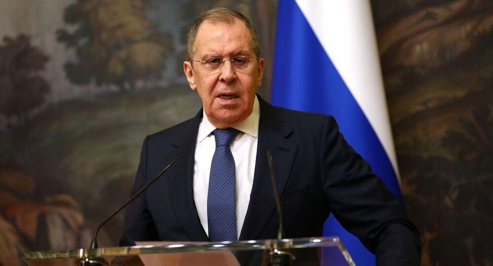 Ministro Esteri russo Sergey Lavrov