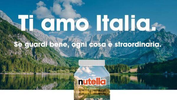 Nutella, Ti amo Italia - Sputnik Italia