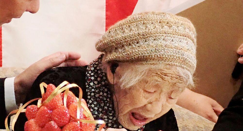 Kane Tanaka, la persona più longeva del mondo