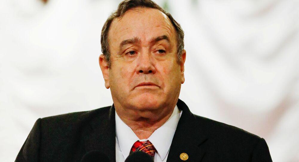 Alejandro Giammattei, presidente del Guatemala