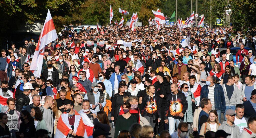 Proteste a Minsk