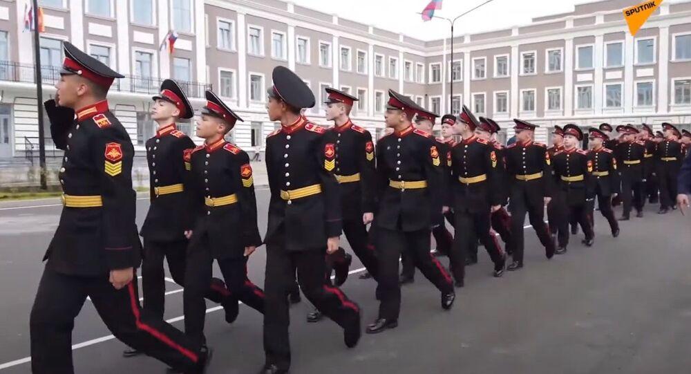Russia, il nuovo complesso di edifici della Scuola Militare Suvorov a Tver