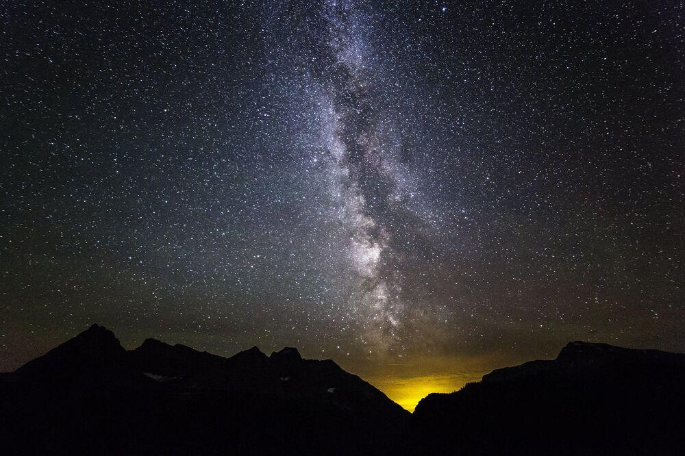 Il Parco nazionale dei ghiacciai situato nel Montana, al confine con le provincie canadesi dell'Alberta e della Columbia Britannica, negli Stati Uniti