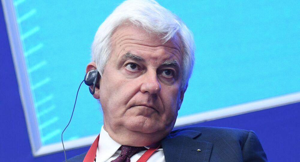 Alessandro Profumo, ad di Leonardo SpA al Forum Economico Internazionale di San Pietroburgo 2019