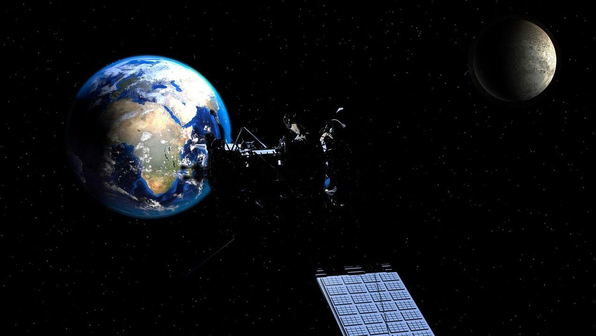 Satellite, Terra e Luna - Sputnik Italia, 1920, 08.05.2021