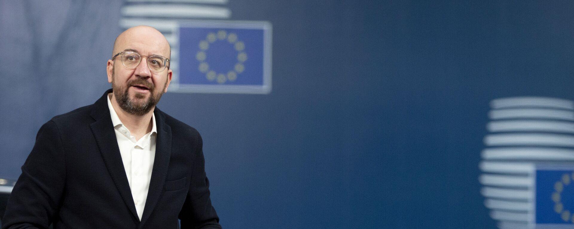 Il presidente del Consiglio Europeo Charles Michel - Sputnik Italia, 1920, 22.01.2021