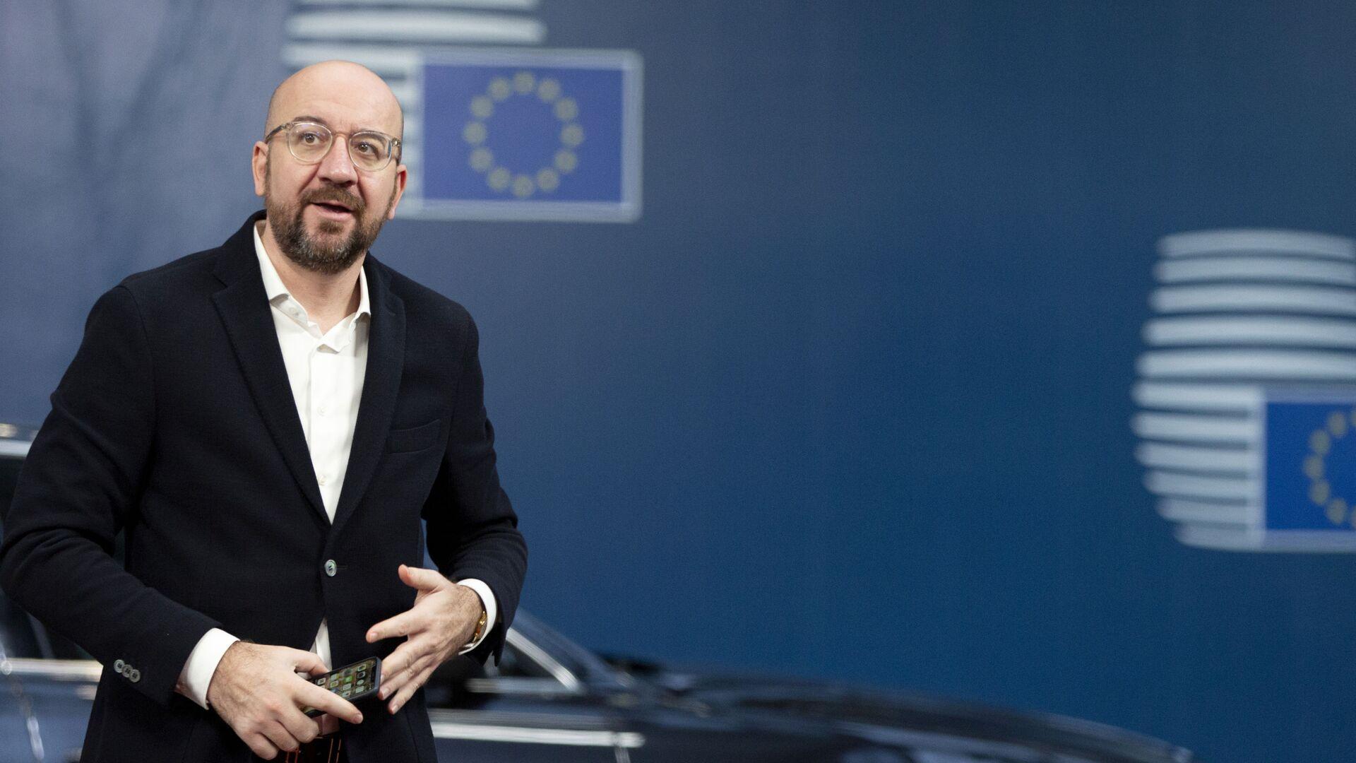 Il presidente del Consiglio Europeo Charles Michel - Sputnik Italia, 1920, 23.05.2021