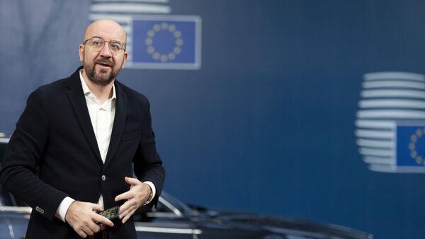 Il presidente del Consiglio Europeo Charles Michel - Sputnik Italia