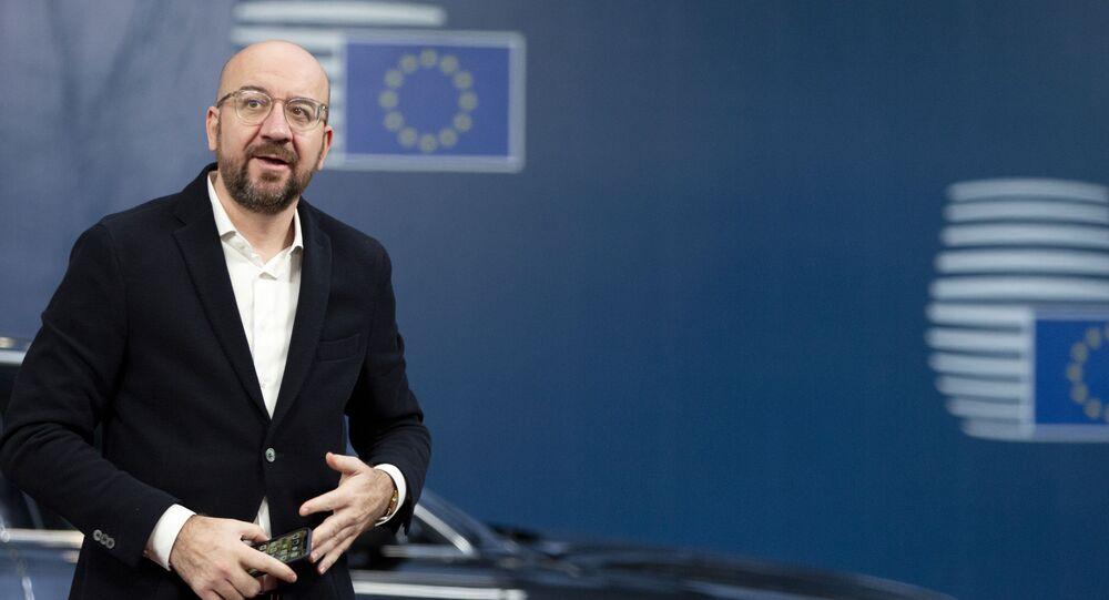 Il presidente del Consiglio Europeo Charles Michel